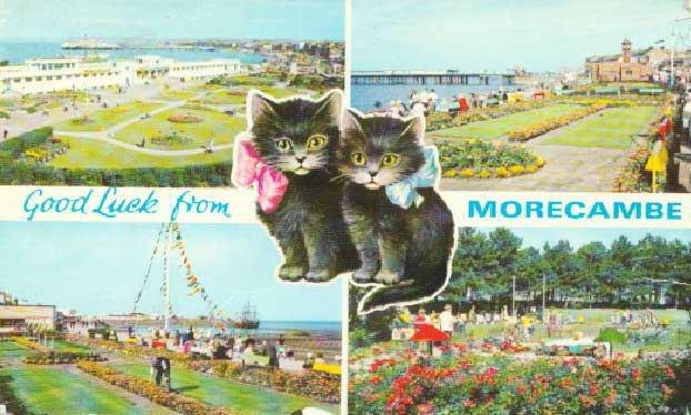 Kitsch views of Morecambe