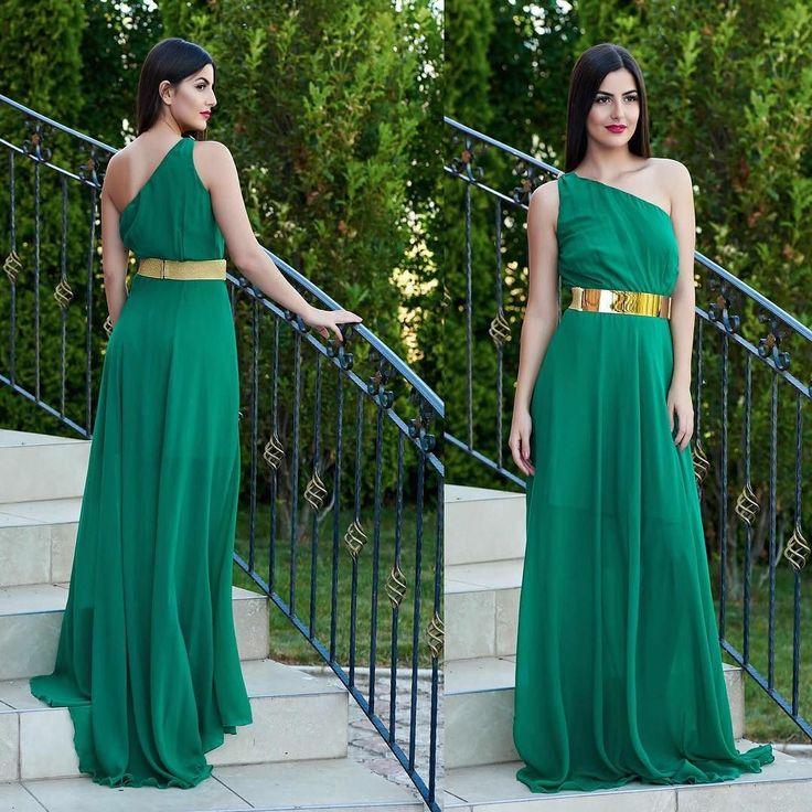 Rochie BB Simplicity Green Pret: 314.37 Lei - https://goo.gl/tDZhW7 #rochii2017 #rochiiieftine #rochiedeseara