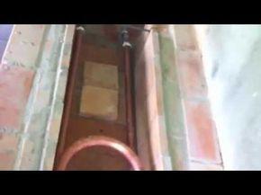 Como construir um fogao a lenha com serpentina - HF Metalurgica - YouTube