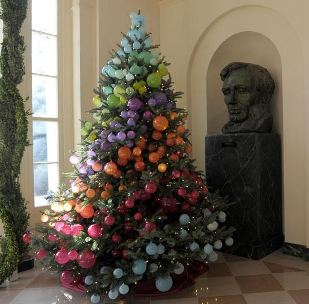 White House splurges on holiday decorations by adding nearly 50 per cent more…