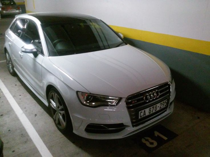 Audi S3 (I think) Pick n Pay Claremont, Cape Town, December 2014