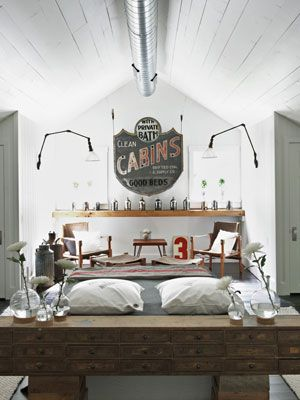 Best 25  Vintage industrial bedroom ideas on Pinterest 100  Bedroom Decorating Ideas You ll Love. Industrial Bedroom Ideas. Home Design Ideas