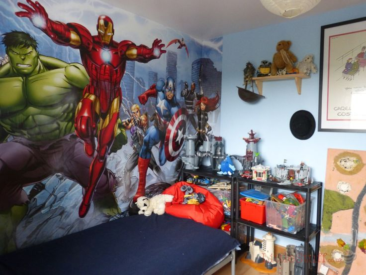 Dulux Marvel Avengers Bedroom In A Box. Officially Awesome. | LittleStuff