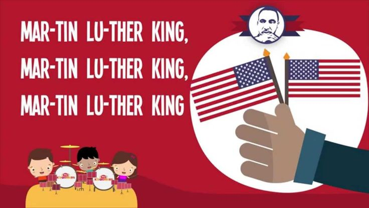 Martin Luther King for kids | Martin Luther King song I Have a Dream