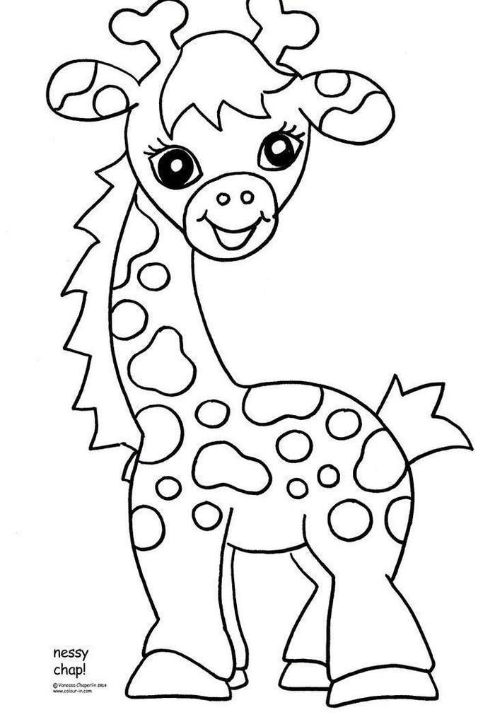 Baby Zoo Animal Coloring Pages Giraffe Coloring Pages Zoo Animal Coloring Pages Animal Coloring Pages