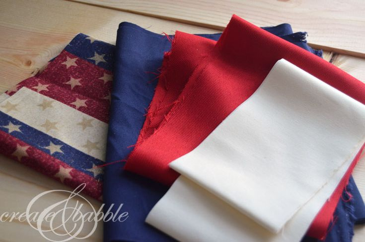 Easy to Make Patriotic Bunting