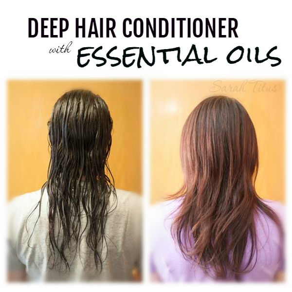 With all the styling, blow drying, straightening, curling, and products we use in our hair to make it look gorgeous, it's bound to look a little fried sometimes. Fortunately there's a natural deep hair conditioner with essential oils that you can use to bring life back to your hair.