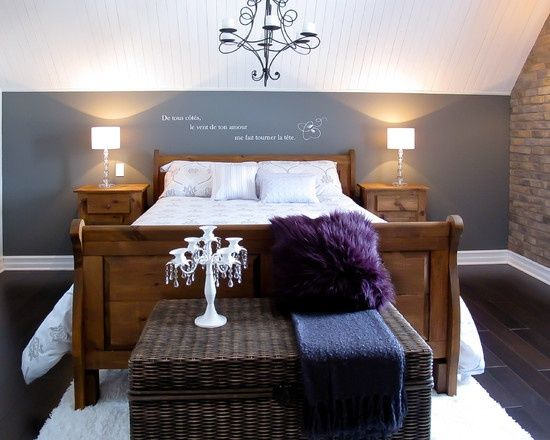 slanted ceiling bedroom | Bedroom Slanted Ceiling Design, Pictures, Remodel, Decor and Ideas ...