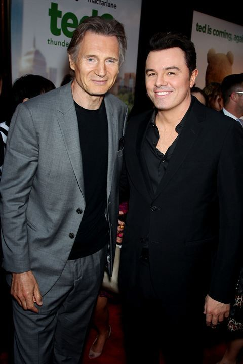 Ted 2 : Photo promotionnelle Liam Neeson, Seth MacFarlane
