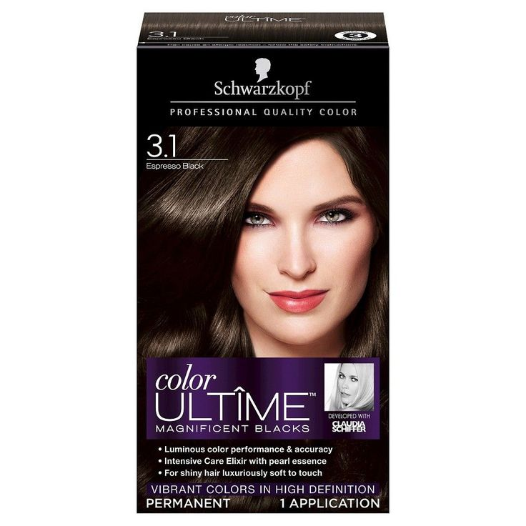 Schwarzkopf Color Ultime Hair Color 1.3 Espresso Black