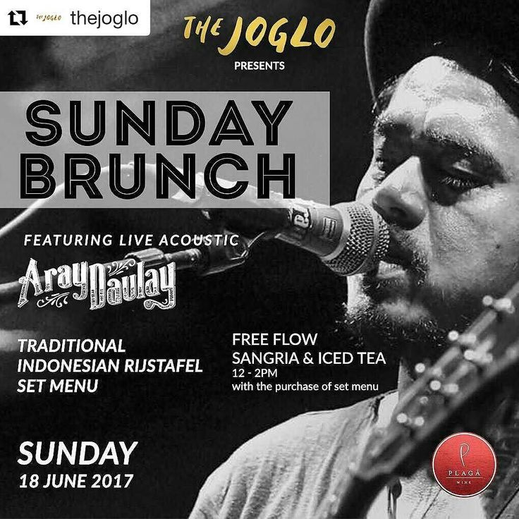 If only everyday would be Sunday we would be serving our Indonesian Rijstafel from @madeswarung alongside our FREE flow Sangria & Ice Tea by @plagawine and even better this entire culinary orchestration would be featuring @araydaulay acoustic live  Sunday dreams come true today starting 11am  #food #bali #holiday #thejoglo #traveling #wanderlust #globetrotter #travel #travelblogger #flatlays #flatlay #flatlayoftheday #lunch #yummy #acolorstory #foodlover #tumblr #foodforfoodie #style #foodie…