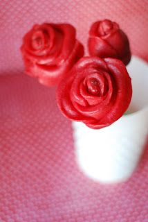 Rose Cake Pops Tutorial