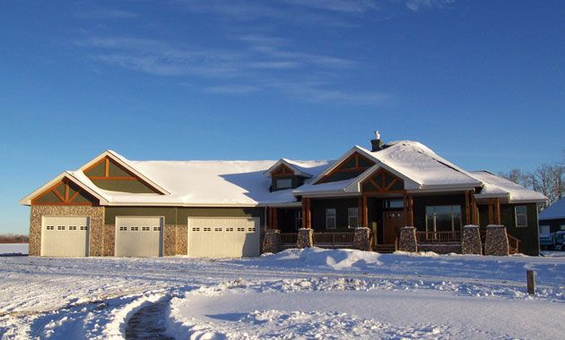 Ranch style homes with walkout basement battle estate for 2500 sq ft ranch house plans