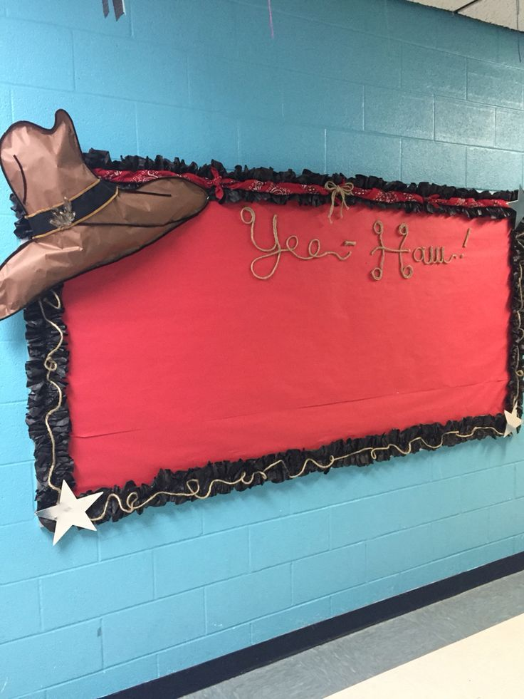 Western bulletin board!                                                                                                                                                                                 More