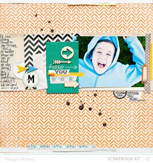 Hello You by maggie holmes at Studio Calico January Kits