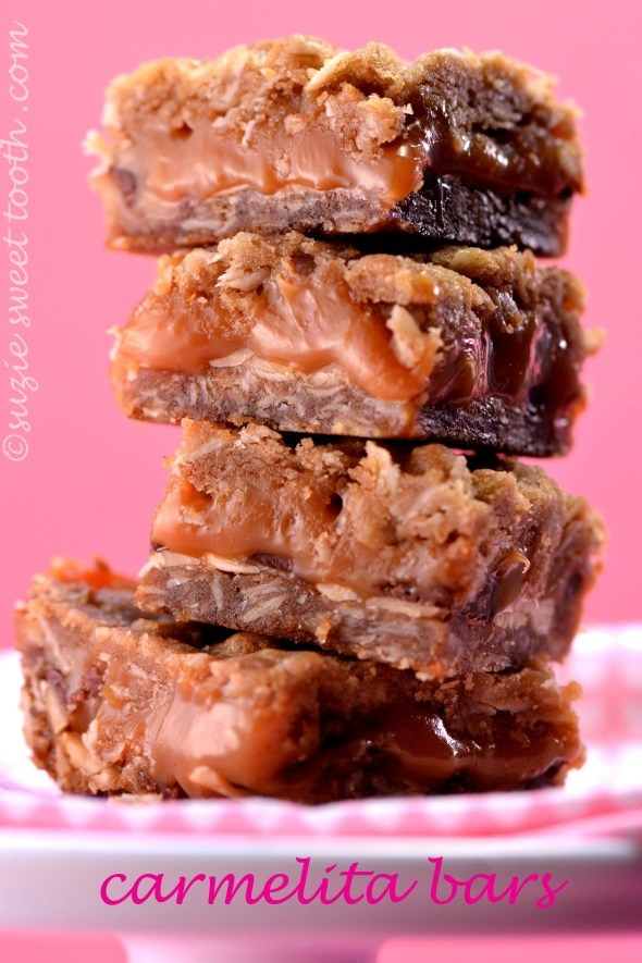 carmelita bars 1 | Food and drink ;) | Pinterest | Bar
