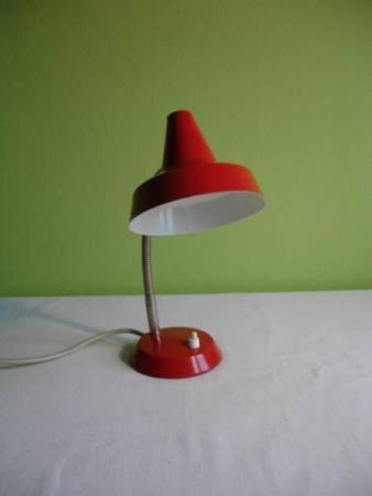 Schöne 80er Jahre Nachttisch / Büro Lampe