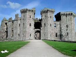 Raglan Castle (Welsh: Castell Rhaglan) is a late medieval castle located just north of the village of Raglan in the county of Monmouthshire in south east #Wales.