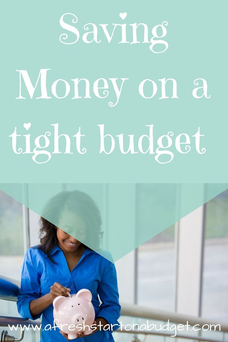 How I am saving money on a tight budget: It can be done though it does take some extra effort to save money when there isn't a lot coming in.