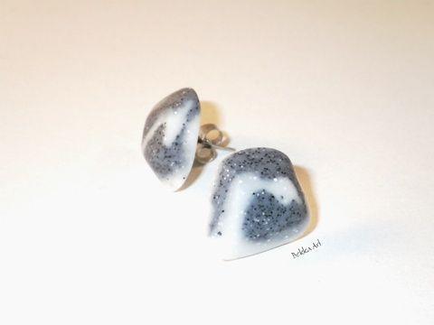 Meska - 'Sand' beszúrós fülbevaló bekka kézművestől