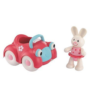 Early Learning Centre ELC Toy Box Car and Rosie Rabbit 10158507 60 Advantage card points. The Early Learning Centre Toy Box Rabbit is a small toy rabbit with clicking arms and legs that your child can play with and chew on! Zoom the pink Car along and watch its ey http://www.MightGet.com/april-2017-1/early-learning-centre-elc-toy-box-car-and-rosie-rabbit-10158507.asp
