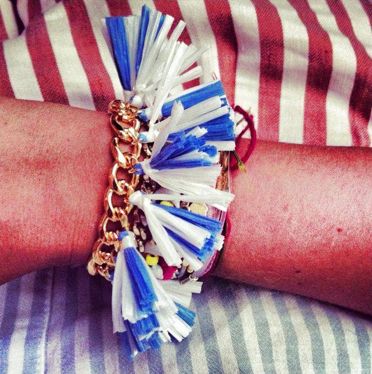 Stl Made in Italy Aloha #stripes #chainbracelet #bracelet #braccialetto #fashion #moda #accessory #aloha #stlmadeinitaly  De venta en www.mache.mx
