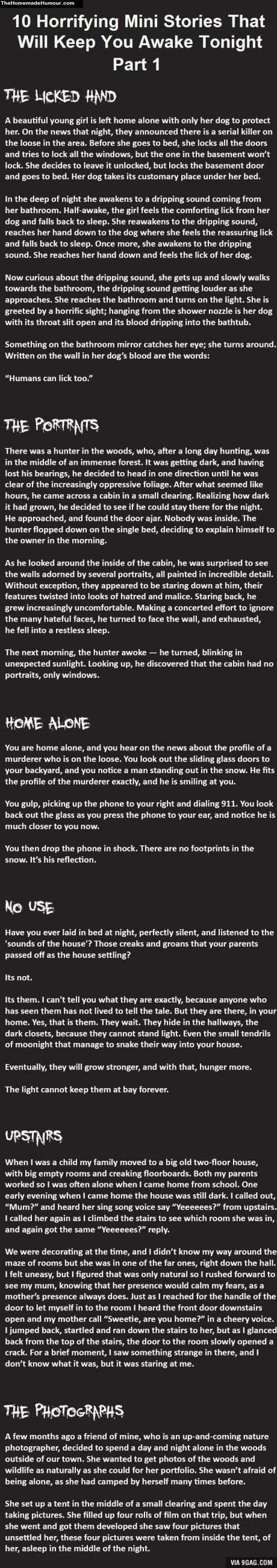 Horror Stories That Gonna Make You Poop In Your Pants! - The Homemade Humour