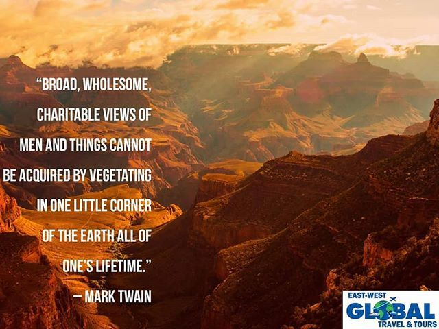 Great quote with one of my favorite photos of the Grand ...