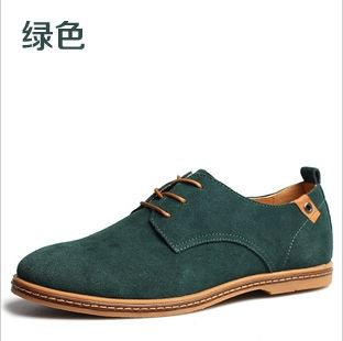 2015 New Fashion Winter Suede Shoes Casual Shoes Oxford Leather Tendon End 38-48 Size