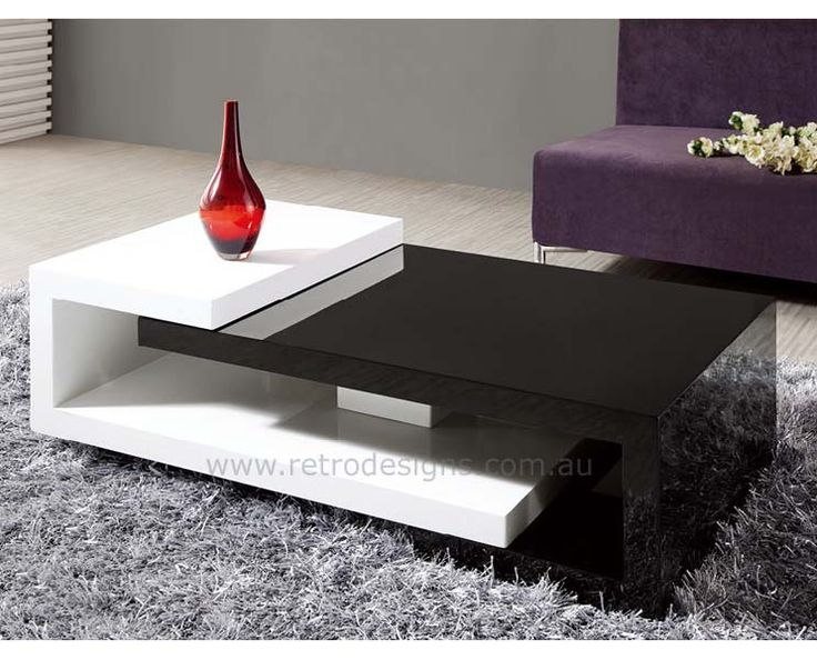 Yes, please, something different. Another groovy coffee table from retrodesigns.com.au