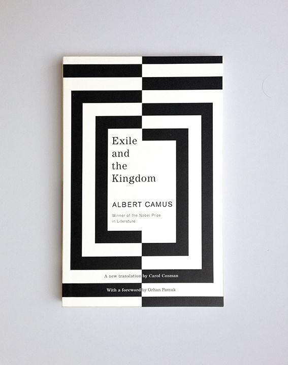Exile and the Kingdom // Albert Camus / design Helen Yentus / publisher Vintage Books