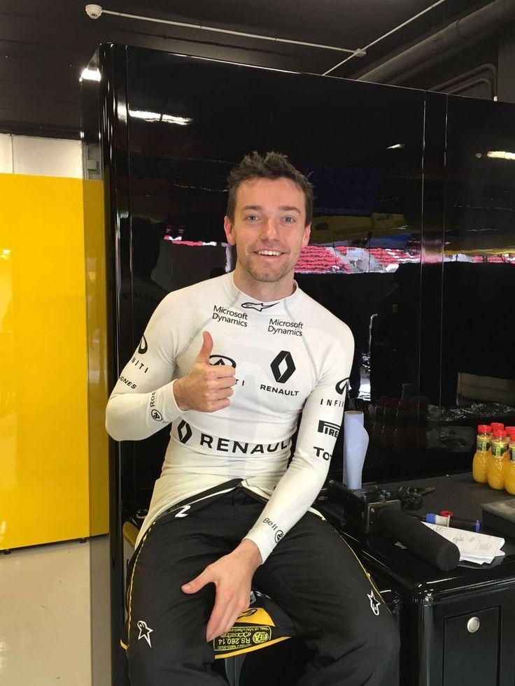 In the Paddock w/the 2016 #F1 Pilot Jolyon Carlyle Palmer of #RenaultSportFormula1Team