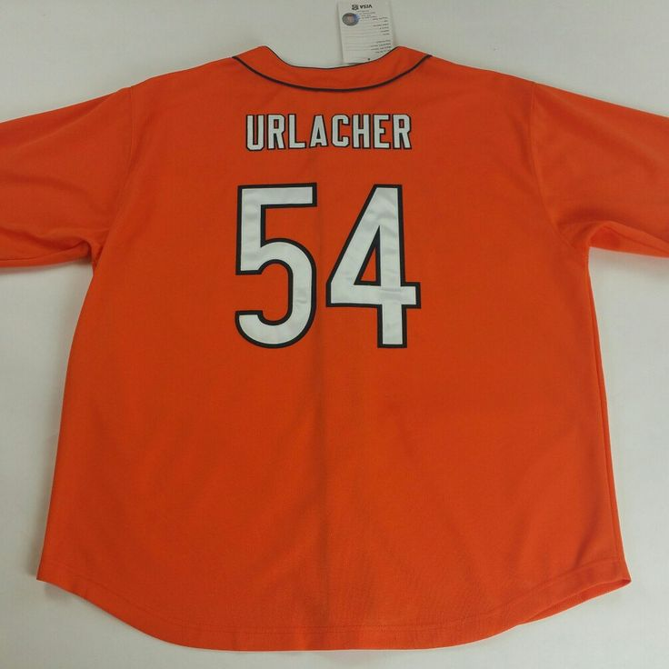 Check out this Killer, Chicago Bears Brian Urlacher Baseball Jersey available on www.JustOneVintage.com Support our Etsy shop and follow us on Instagram @justonevintage