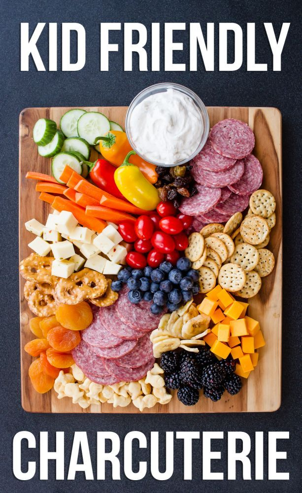 Kid friendly charcuterie board perfect for family entertaining.
