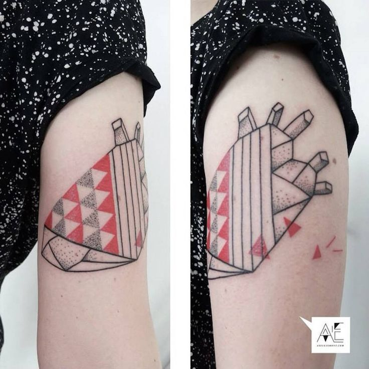 Best Tattoos Images On Pinterest Delicate Tattoo Korean - Minimal geometric tattoos brought to life with bursts of colour