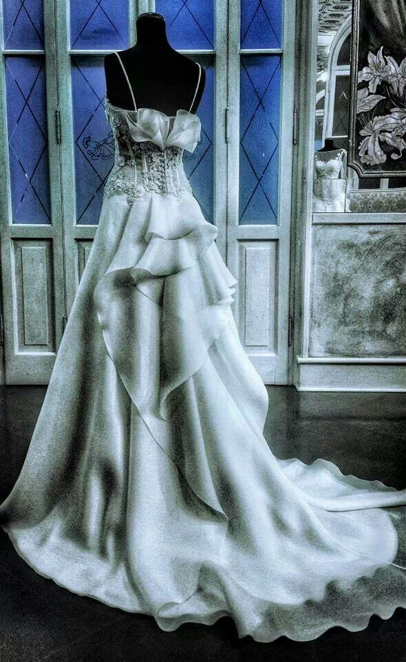9 best Elvira Gramano images on Pinterest | Short wedding gowns ...