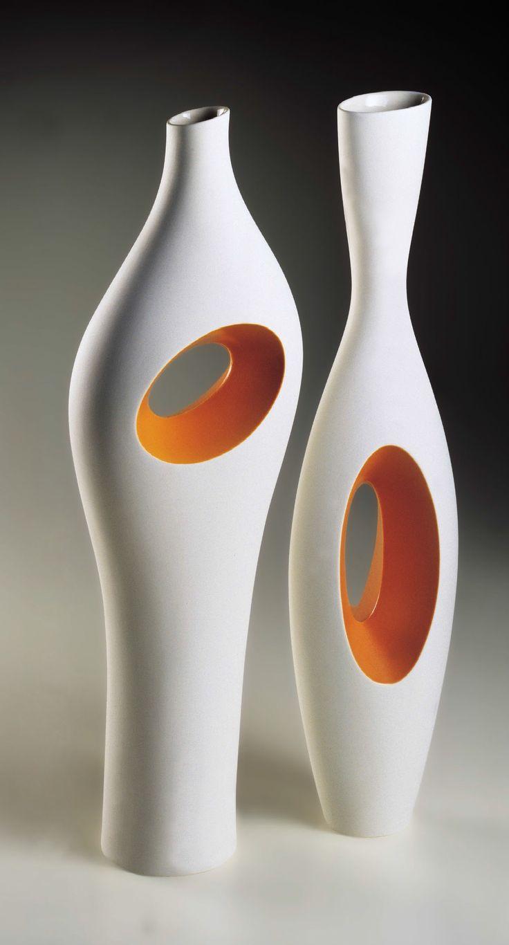 Vaso in porcellana ELLIPSIS | Vaso - Fos Ceramiche