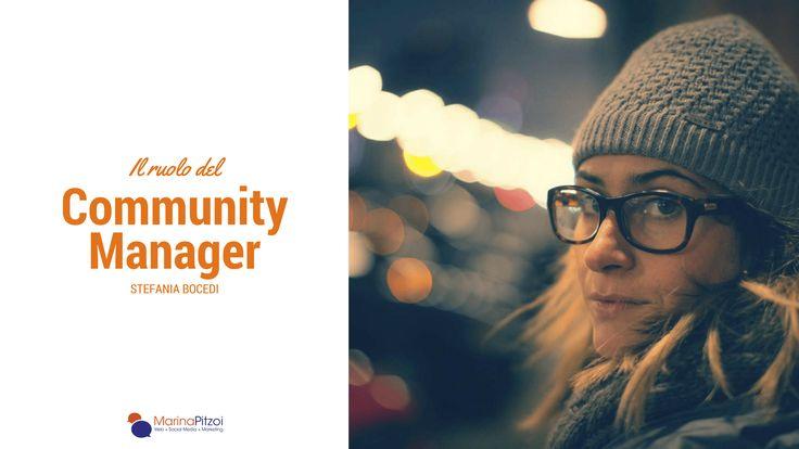 Il ruolo del Community Manager: intervista a Stefania Bocedi