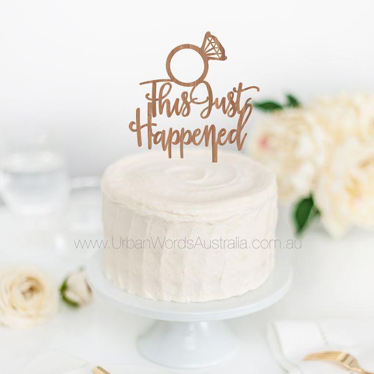 Wedding Cake Topper Perth