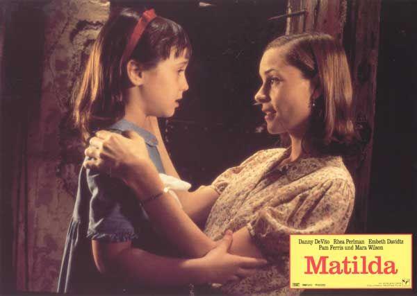 I love this scene when Miss Honey saves Matilda from the chokey.