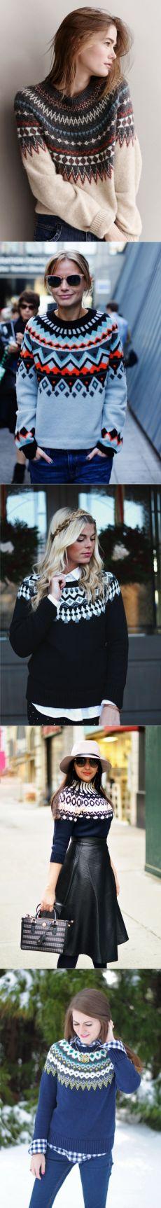 Идея для шоппинга: уютный свитер с круглой кокеткой — Модно / Nemodno