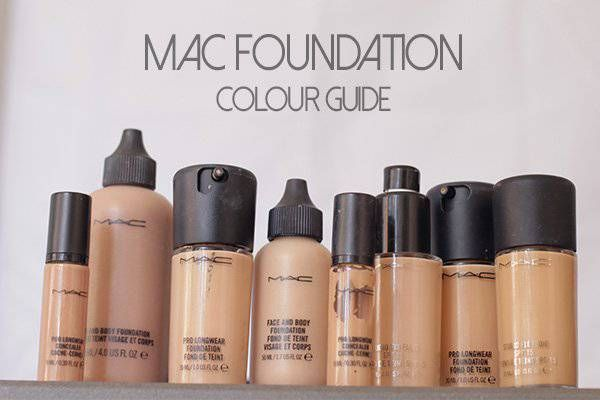 mac foundation colour guide | always could tell the ...