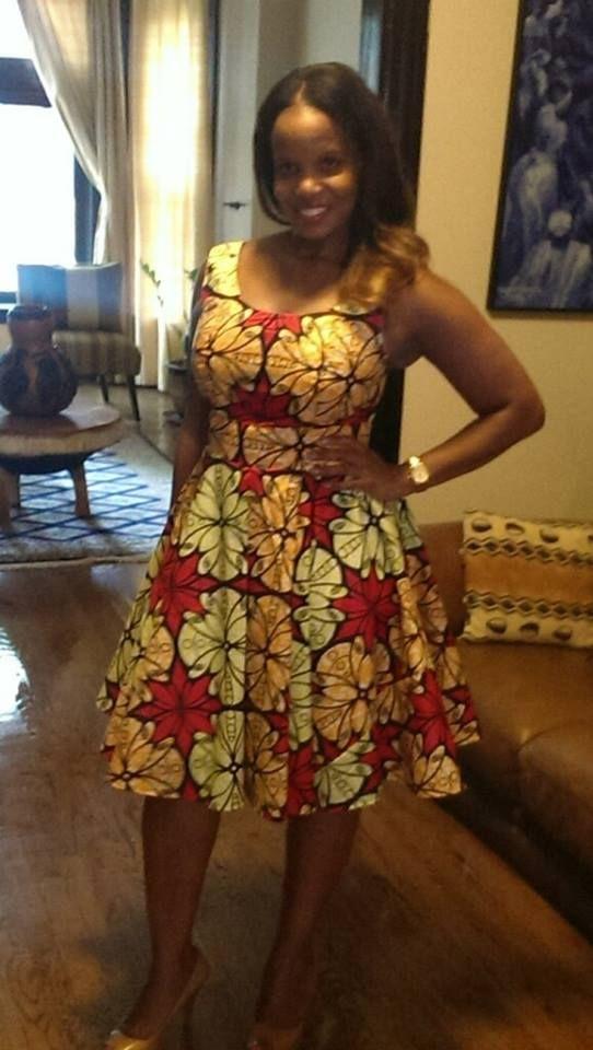 Ankara Summer Dress.. By Dressmakerby Olivia