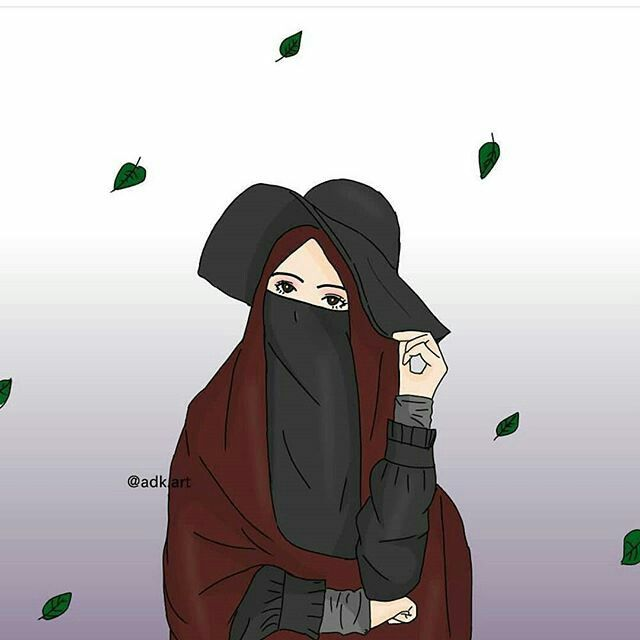 103 Gambar Kartun Muslimah Merenung Terbaik