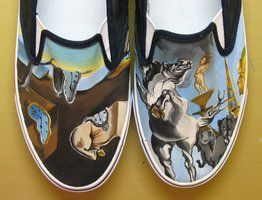 Salvador Dali Vans Shoes