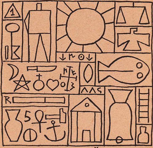 Joaquin Torres Garcia - Montevideo 1938  La Tradicion del Hombre Abstracto - (Doctrina Constructivista)