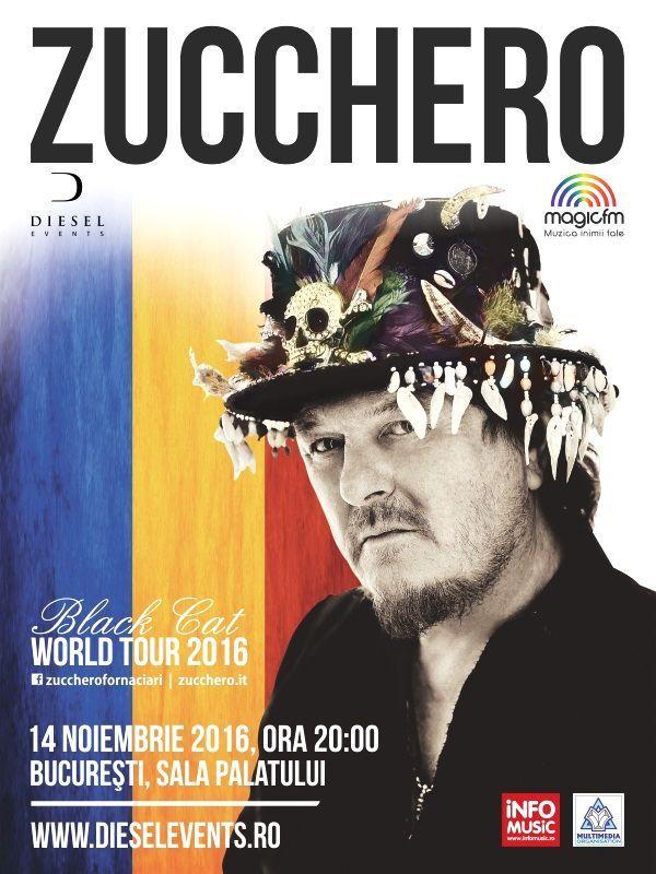 Zucchero Black Cat World Tour 2016 - 14 Nov 2016