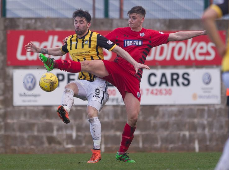 Queen's Park's Cammy Foy in action during the Ladbrokes League One game between East Fife and Queen's Park.