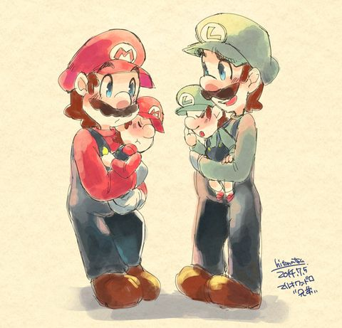 Aw, all the weegee fanart is just so cute!!!!