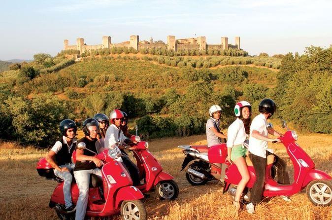 Tuscany Vespa Tours